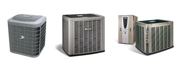 Carrier, Luxaire, and York AC systems